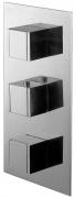 Varono Unterputz Wannen Thermostat incl.Einbaukörper und Umsteller Serie-22