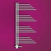 MERT Belluna Design-Badheizkörper chrom