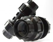 PLASSIM Reduktionskupplung für PE-Rohre