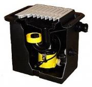 Zehnder Schmutzwasser-Hebeanlage UFB200/30 - Unterflurbox