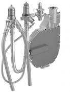 HANSA 4-Loch Wannenrand-Einbaukörper, DN 20  mit flexiblen Anschlussschläuchen G 3/4