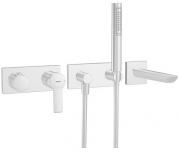 HANSALIGNA  Fertigmontage-Installationspaket 1.3  Einhand-Batterie, DN 15 (G1/2)