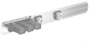 HANSAMATRIX  TIPTRONIK  Unterputz-Installationspaket 7.0  Thermostat-Batterie, DN 15 (G1/2)