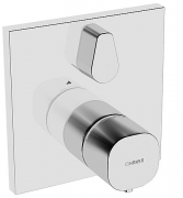 HANSALIVING  Fertigmontageset mit Funktionseinheit  Brause-Thermostat-Batterie, DN 15 (G 1/2)