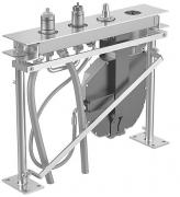 HANSACOMPACT 4-Loch-Fliesenrand-Einbaukörper  für Standauslauf, DN 20  für Standmontage
