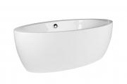 freistehende Design Badewanne groß