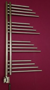 MERT Belluna Elektro Design-Badheizkörper chrom